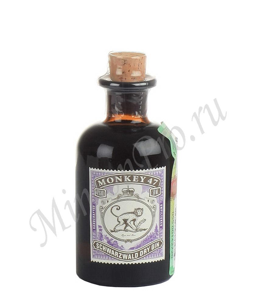 Миньон Monkey 47 джин шкалик Манки 47 джин мини бутылка