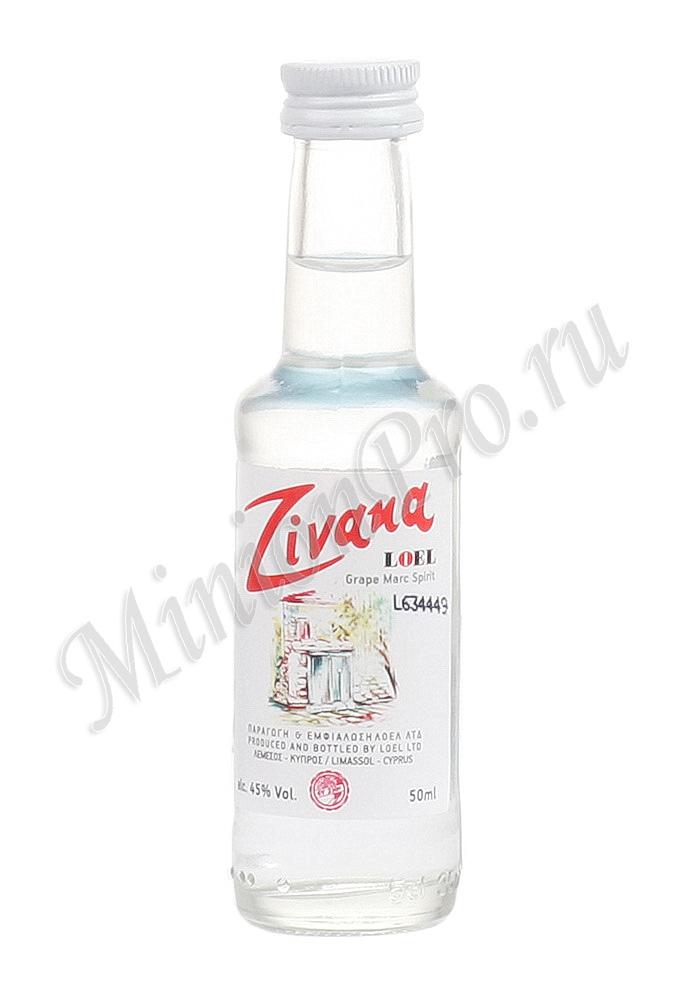 Миньон Loel Zivana шкалик Лоел Зивания мини бутылка