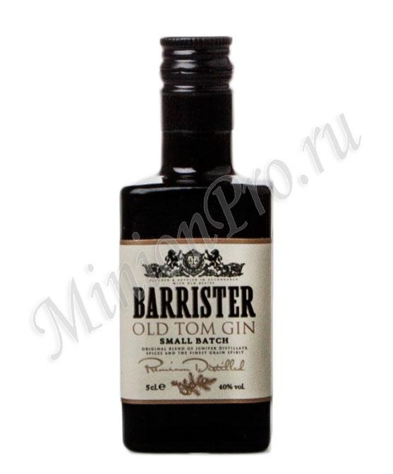 Миньон Barrister Old Tom Gin шкалик Барристер Олд Том Джин мини бутылка