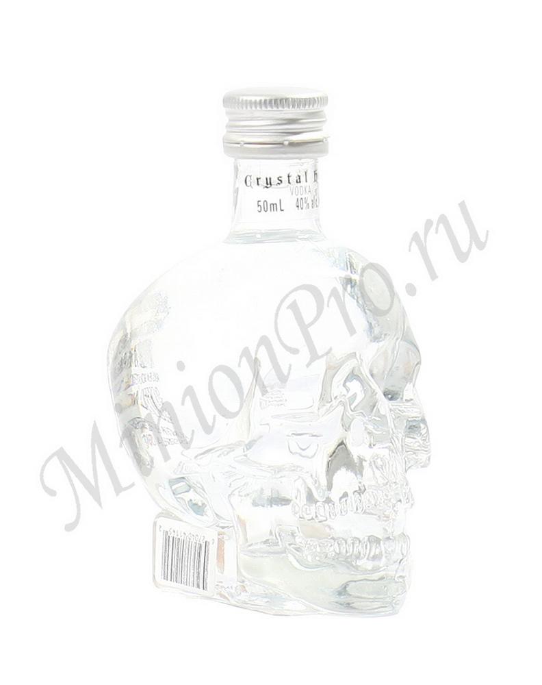 Миньон Crystal Head водка шкалик водки Кристалл Хэд мини бутылка